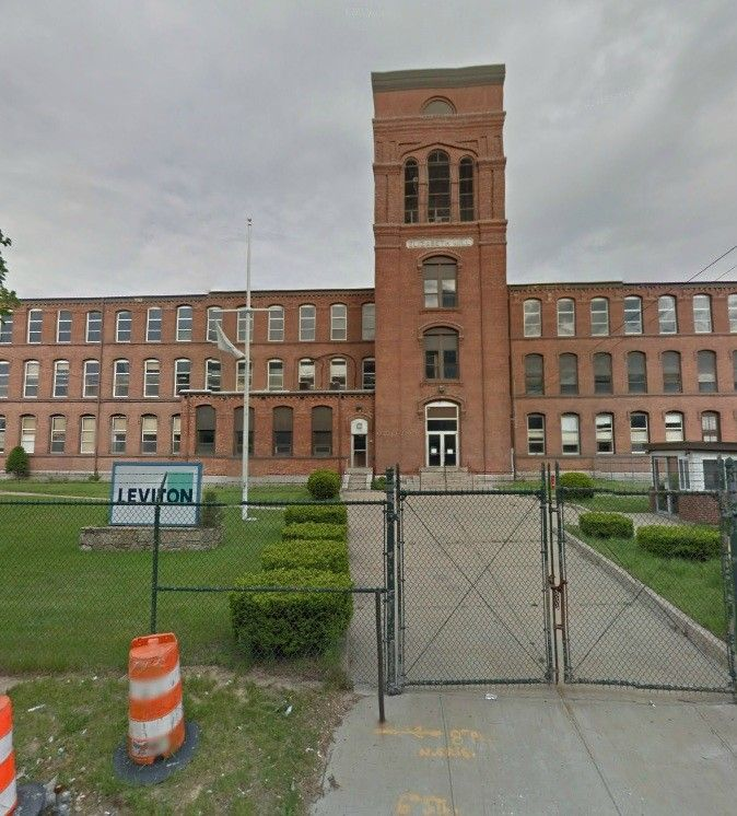 THE ELIZABETH Mill Building, part of the Leviton complex at 745 Jefferson Blvd. in Warwick, will be razed and some of its architectural elements incorporated into a new building, under a plan that Warwick officials hope will serve as a development catalyst for the City Centre Warwick district surrounding T.F. Green Airport. / COURTESY GOOGLE MAPS