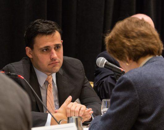 Panelist Zach Scheublein, VP, Aon Financial Services Group