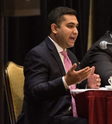 Shiraz Saeed, Cyber Liability Specialist, AIG / Rupert Whiteley