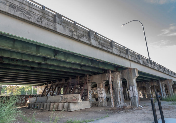 MAKING A  DIFFERENCE: So far one of the few collaborative research projects to make a difference in policy discussions was a Roger Williams University professor's study of the state's failing bridge infrastructure. / PBN FILE PHOTO/ MICHAEL SALERNO