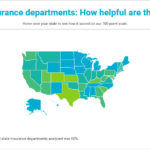 RHODE ISLAND'S website ranked fifth worst in the nation for consumer helpfulness, according to NerdWallet's list of state insurance department websites. / COURTESY NERDWALLET