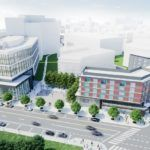 A PROVIDENCE CITY DESIGN review panel has recommended approval for two buildings in the $158 million first phase of the Wexford Science & Technology campus, which will include an innovation center, outdoor courtyard and hotel.