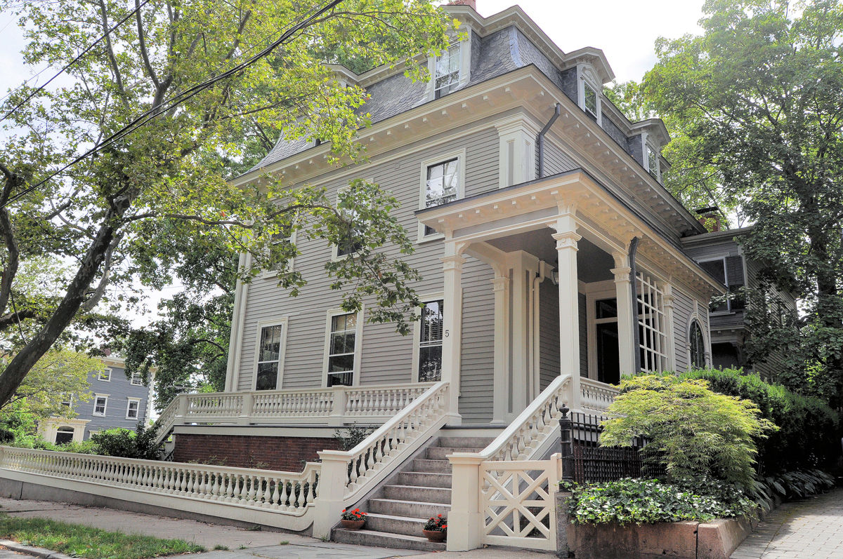 THE HISTORIC ZECHARIAH Chafee House on the East Side of Providence sold recently for $1.1 million. /COURTESY RESIDENTIAL PROPERTIES LTD.