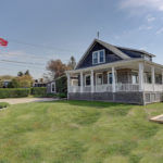 THIS FOUR-BEDROOM, SHINGLED cottage sold recently for $900,000, which was the fourth-highest price for a single-family house in Little Compton this year. /COURTESY RESIDENTIAL PROPERTIES LTD.