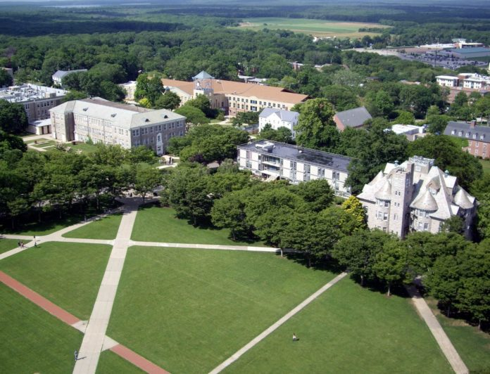 THE UNIVERSITY OF RHODE ISLAND ranked in the top 20 party schools in America according to the Princeton Review. /COURTESY UNIVERSITY OF RHODE ISLAND