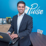 A GOOD SALESMAN: Virgin Pulse's decision to move its headquarters to Providence from Framingham, Mass., was instigated by Dr. Rajiv Kumar, who sold company executives on taking a look at the city to accommodate expansion plans.  / PBN FILE PHOTO/MICHAEL SALERNO