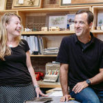 KITE ARCHITECTS HAS JOINED with the Charrette Venture Group. Above, Kite Architects principals Christine Malecki West, left. and Albert Garcia. / COURTESY KITE ARCHITECTS