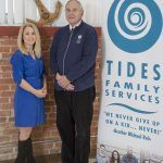 TIDES FAMILY SERVICES announced Wednesday its CEOBrother Michael Reis (R) will step down to serve as Chief Visionary Officer while long-time employee Beth Bixby (L) will take over for him as head of the Christian social services organization. / COURTESY TIDES FAMILY SERVICES