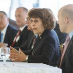 MARIE L. GANIM, the Rhode Island Health Insurance Commissioner, pictured here during the Oct. 5, 2017, PBN Health Care Summit. / PBN FILE PHOTO/ RUPERT WHITELEY