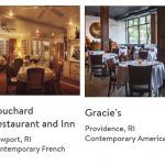 TWO RHODE ISLAND restaurants were named to the OpenTable 2018 Top 100 Most Romantic Restaurants 2018 list. / COURTESY OPENTABLE