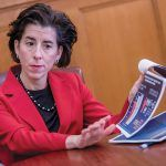 GOV. GINA M. RAIMONDO had the seventh-highest disapproval rating for a governor in the United States, according to Morning Consult. / PBN FILE PHOTO/ MICHAEL SALERNO