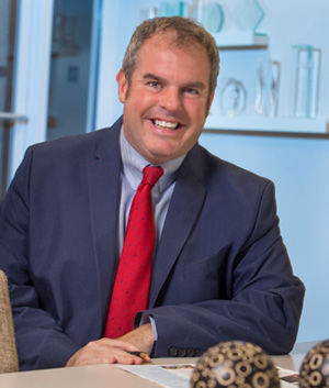 JOHN MCKEE is the regional operations director for Peabody Properties, which is leasing and managing The Residences at Lincoln Park, in Dartmouth. / COURTESY PEABODY PROPERTIES