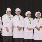 WILLIAM M. DAVIES, JR. Career & Technical High School's team won the