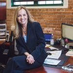 TEAMING UP: Rachelle Handfield, executive vice president of human resources at Collette, has redesigned the company's approach to compensation and professional development.  / PBN PHOTO/RUPERT WHITELEY