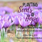 ADOPTION RHODE ISLAND invites the public to its Planting Seeds of Hope spring gala fundraiser at the Providence Biltmore on May 4. / COURTESY ADOPTION RHODE ISLAND