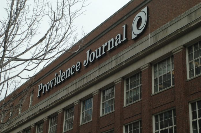 MICHAEL REED, CEO of New Media, owner of the Providence Journal, said he company has cut highly paid but unproductive reporters while asking the remaining reporters to write more articles. Reed said the company's downsizing of newsroom staff at papers it acquires is not driven by profit motives. / PBN FILE PHOTO/BRIAN MCDONALD