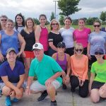 LEAGUES AHEAD: DiSanto, Priest & Co. employees from last summer's Women's Golf League at Mulligan's Island in Cranston. / COURTESY DISANTO, PRIEST & CO.