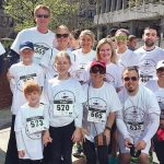 """REASON TO RUN: Team Shawmut ran in the """"Get Gored For Good"""" fundraiser for Amos House, based on the Pamplona """"Running of The Bulls."""" / COURTESY SHAWMUT DESIGN AND CONSTRUCTION"""