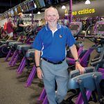 SECOND CAREER: Steve Eddleston, who used to work as a computer engineer, turned his passion for jogging into a second career. He now owns 14 Planet Fitness locations in Rhode Island and Bristol County, Mass. / PBN PHOTO/KATE WHITNEY LUCEY