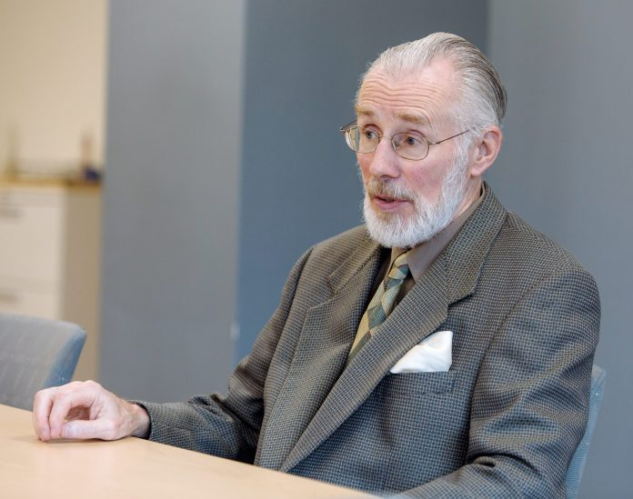 DONALD J. FARISH, the president of Roger Williams University, died suddenly on Thursday. A memorial fund has been set up in his name. / PBN FILE PHOTO/RUPERT WHITELEY