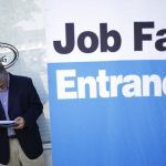 PROVIDENCE METRO AREA UNEMPLOYMENT in June declined 0.5 percentage points year over year to 3.8 percent on a non-seasonally adjusted basis. / BLOOMBERG NEWS FILE PHOTO/LUKE SHARRETT