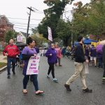UNION MEMBERS that work at the Groden Center schools began a three-day strike Tuesday, following a breakdown in contract negotiations. / COURTESY DISTRICT 1199 SEIU NEW ENGLAND