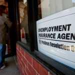 UNEMPLOYMENT in the Providence metro area declined 0.5 percentage points year over year to 3.5 percent. / BLOOMBERG NEWS FILE PHOTO/JEFF KOWALSKY
