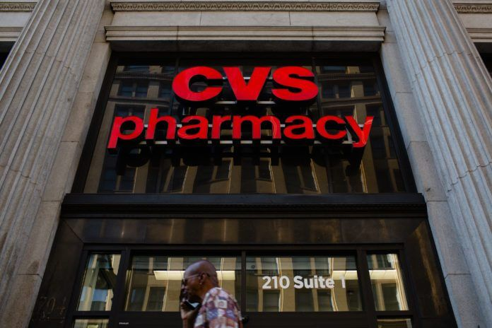 CVS HEALTH announced it expects its acquisition of Aetna to close after Thanksgiving pending the approval to two states. One state that has yet to approve the deal is New York. / BLOOMBERG NEWS FILE PHOTO/CHRISTOPHER LEE