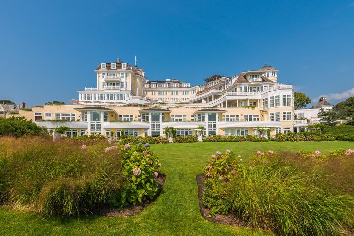 THE OCEAN HOUSE in the Watch Hill area of Westerly received a Five Diamond award from AAA, the organization's highest rating award. / COURTESY THE OCEAN HOUSE