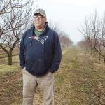 LOOKING ELSEWHERE: Tyler Young, co-owner of the Young Family Farm in Little Compton, said new regulations under the Food Safety and Modernization Act are perceived to be such a hassle by farmers that some are considering changing their crops or leaving the industry. / PBN PHOTO/RUPERT WHITELEY
