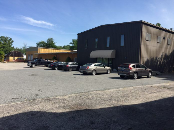 THIS INDUSTRIAL FLEX space at 333 Waterman Ave. in Smithfield was recently sold to a Connecticut firm by a holding company associated with Benny's. / COURTESY SWEENEY REAL ESTATE & APPRAISAL