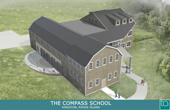 THE COMPASS SCHOOL has received a $500,000 grant to improve the energy efficiency of a large building renovation from a grant program with funds from the Ocean State's participation in the Regional Greenhouse Gas Initiative. / COURTESY R.I. OFFICE OF ENERGY RESOURCES