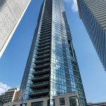 CHAZ YORKVILLE: The 47-story Chaz Yorkville tower, in Toronto, was completed in 2015. It has 526 units and is located in an affluent area of downtown Toronto. / COURTESY THE FANE ORGANIZATION