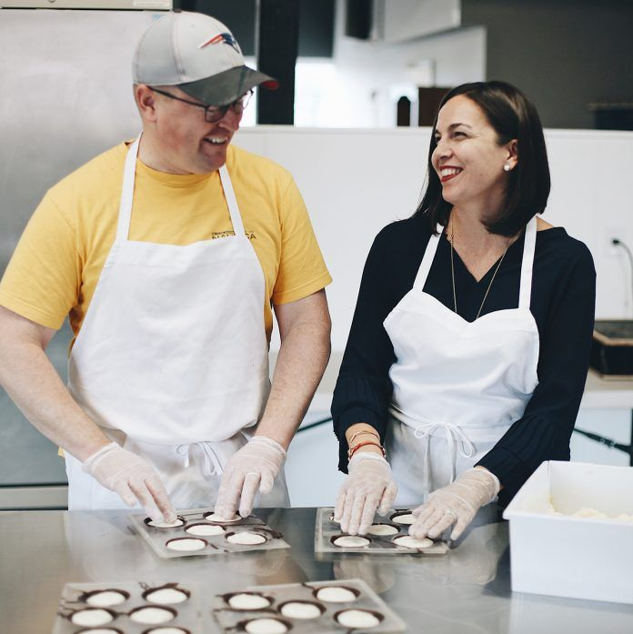 SWEET OPERATION: Kevin and Danielle Anderson opened Seacoast Sweets, a small chocolates-manufacturing and sales operation in Pawtucket, in September after purchasing the company and moving it from Newburyport, Mass. / COURTESY SEACOAST SWEETS