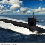 THE U.S. NAVY'S Columbia-Class Submarine project will be audited by the Pentagon's inspector general on how well the Navy is overseeing development of the propulsion and steering system. / COURTESY GENERAL DYNAMICS ELECTRIC BOAT
