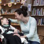 NEW PROTOCOLS: Jenn Anderson with her son Brandon, 10. Brandon has had sepsis several times, but new protocols at Hasbro Children's Hospital help him get treatment more quickly. / PBN PHOTO/MICHAEL SALERNO
