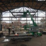 """WHEN ITS COMPLETE, the $2.7 million """"Super Studio"""" project will allow The Steel Yard to offer multipurpose community space year-round. / COURTESY STEEL YARD"""
