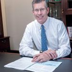 WASHINGTON TRUST was named No. 1 in Rhode Island for overall quality at the Banking Choice Awards this year. Above, Washington Trust Chairman and CEO Edward O. Handy III. / PBN FILE PHOTO MICHAEL SALERNO