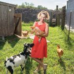 After taking over Earth Care Farm in 2016 from her father, Jayne Merner Senecal realized that she had gaps in her business acumen. Her experience with the Goldman Sachs 10,000 Small Businesses program gave her focus and has helped the farm thrive. / PBN PHOTO/DAVE HANSEN