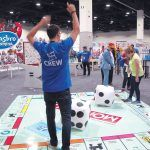 HASBRO'S SECOND-QUARTER profit totaled $13.4 million. In the fall of 2017 the company held HasCon, an event that showcased Hasbro's brands - including Monopoly - and licensed products. / PBN FILE PHOTO/NICOLE DOTZENROD