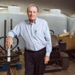 A GREENER THUMB: James Wilkinson had an advantage when he launched SeaScape Lawn Care Inc. in 1992: He has a degree in horticulture and a doctorate in agronomy. / PBN PHOTO/RUPERT WHITELEY