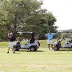 CHAMBER INVITATIONAL: Golfers enjoy the course during last year's SouthCoast Chamber of Commerce's Chamber Invitational Golf Tournament. This year's tournament will be held Sept. 3 at Allendale Country Club in Dartmouth. / COURTESY SERGIO DABDOUB