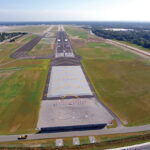 TRAFFIC AT T.F.GREEN Airport declined 11% year over year in May, but the airport logged its third-highest passenger total for the month since 2009. / COURTESY R.I. AIRPORT CORP.