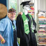 A CLASS OF HIS OWN: Dennis Littky has gained the reputation of being an innovative educator by developing projects such as College Unbound, a nontraditional, degree-granting school.  / PBN PHOTO/DAVE HANSEN