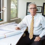GRAND PLAN: Scott A. Gibbs' career in economic development has spanned nearly four decades. He leans on the experience as president of the self-funded, nonprofit Economic Development Foundation of Rhode Island.PBN PHOTO/RUPERT WHITELEY / PBN PHOTO/DAVE HANSEN