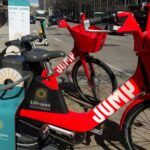 THE JUMP BIKE program in Providence is being put on pause due to reports of the bikes being stolen. / PBN FILE PHOTO/CHRIS BERGENHEIM