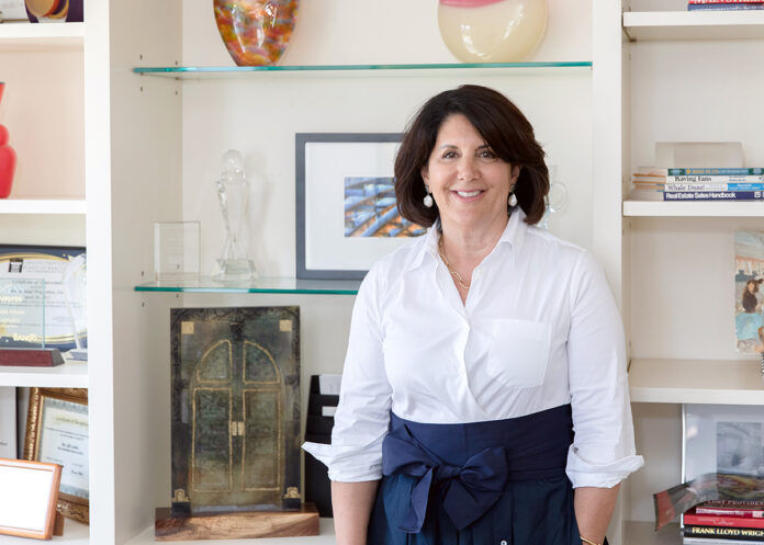"""CONNECTIONS MADE: Sally E. Lapides says real estate is """"a relationship business,"""" and she's excelled at making lasting relationships over the years.  / PBN PHOTO/TRACY JENKINS"""