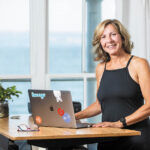 SELF HELP: Swoogo CEO Leonora Valvo has built a subscription-based event-marketing software company with her business partner Tim Cummins, without the help of venture capital. PBN PHOTO/DAVE HANSEN