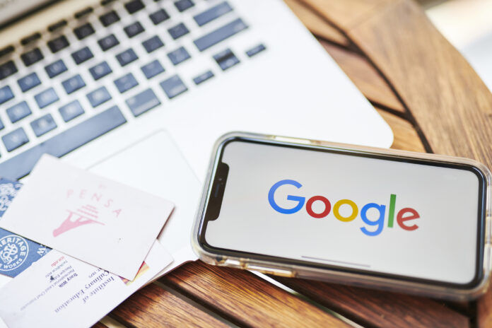 ALPHABET INC.'S Google is the subject of a broad antitrust investigation initiated by 50 attorneys general. / BLOOMBERG NEWS FILE PHOTO/GABBY JONES