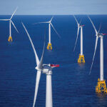 PROPOSED CHANGES to federal regulations related to projects such as the Block Island Wind Farm have the potential to dampen development of renewable energy in the nation, according to green energy advocates. / BLOOMBERG NEWS FILE PHOTO/ERIC THAYER